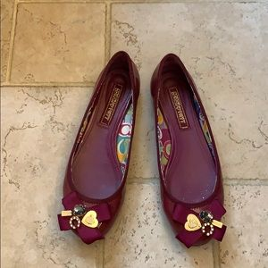 Coach love Poppy limited edition flats